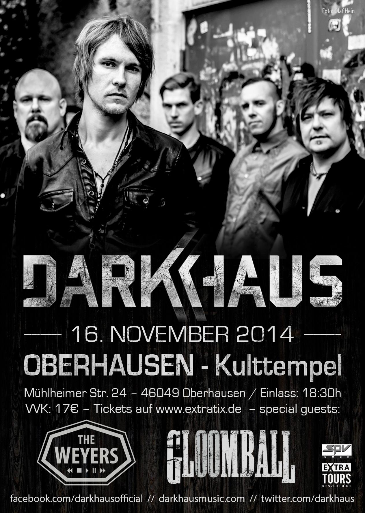DARKHAUS - Oberhausen, Kulttempel