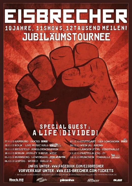 Eisbrecher Tour 2013
