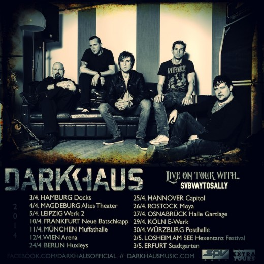 DARKHAUS - Tour mit Subway To Sally 2014