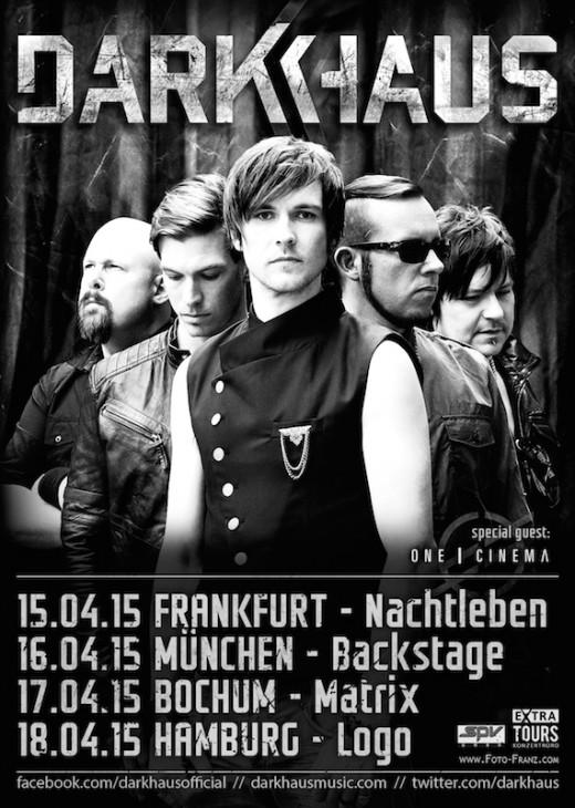 DARKHAUS - Tour 2014